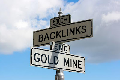 backlink = tambang emas