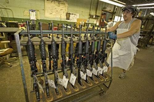 pabrik M16 Riffle
