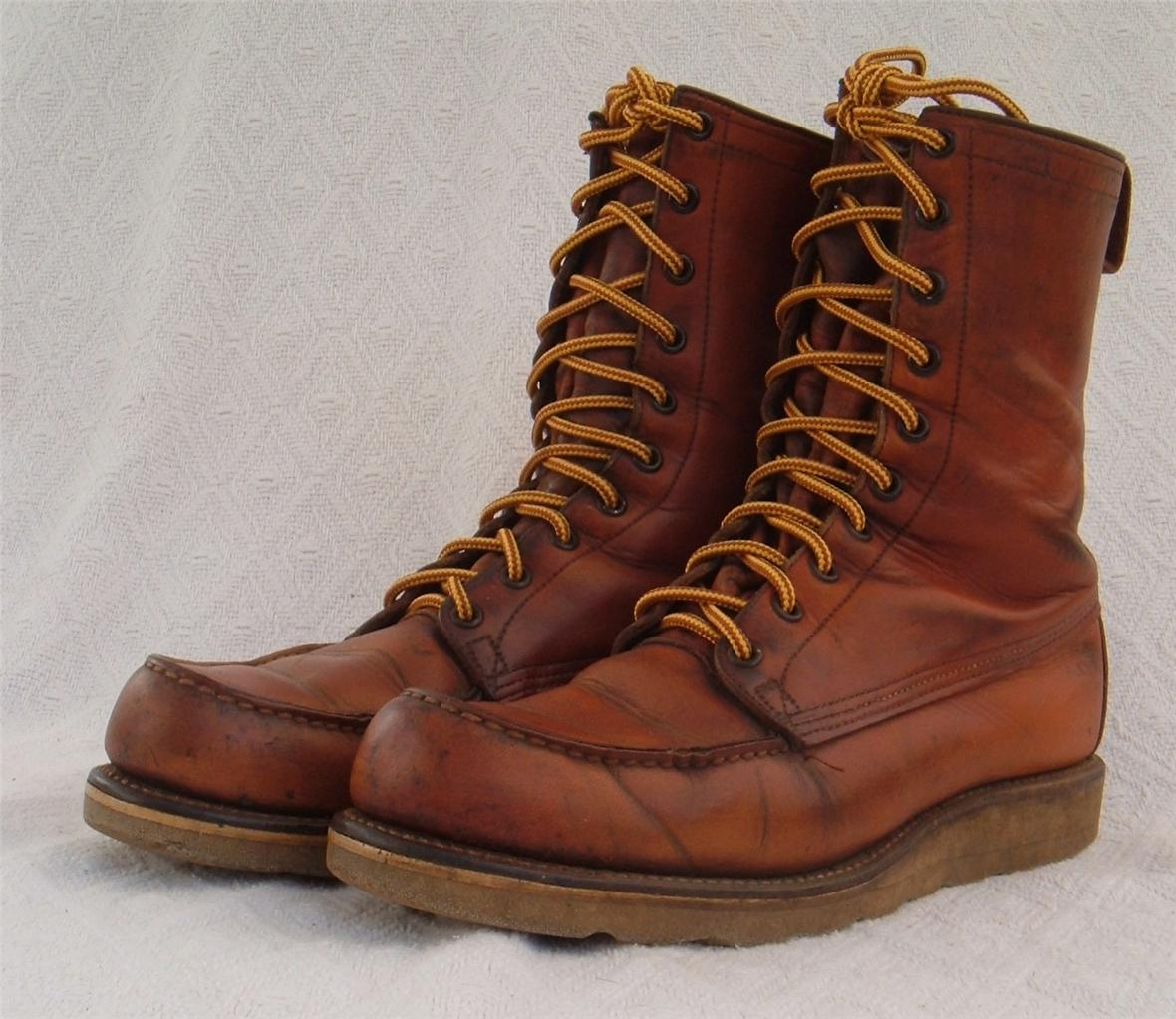 Vintage Red Wing Boots i8WdYzT4