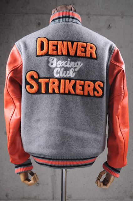 boxer letterman varsity jacket