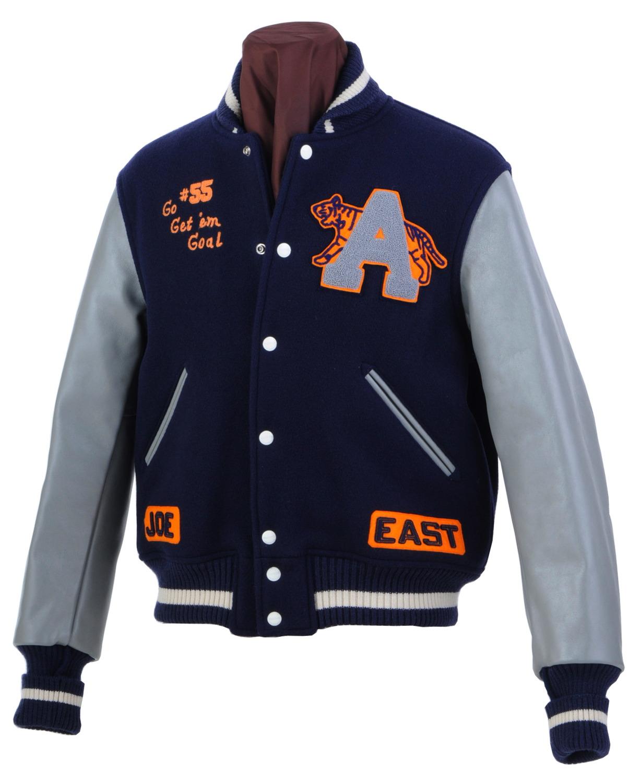 Joe mccoy letterman jackets vintage americana toggery for Varsity letter man jacket