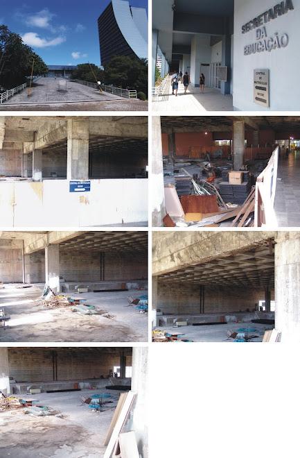 Centro Administrativo, onde Yeda Crusius quer instalar a TVE/RS e a FM Cultura  Fotos de 09/02/2010
