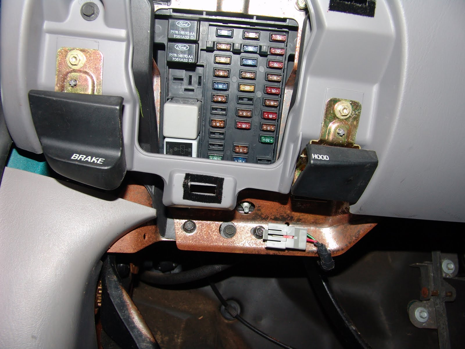 1997 Ford F150  Power Windows Inop