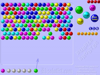 bubble shooter play it