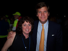Anne Marie and Tucker Carlson