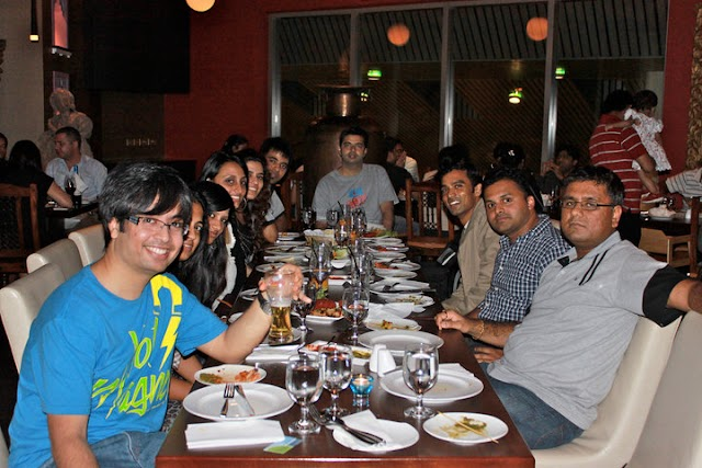 418. The first indiblogger meet outside India