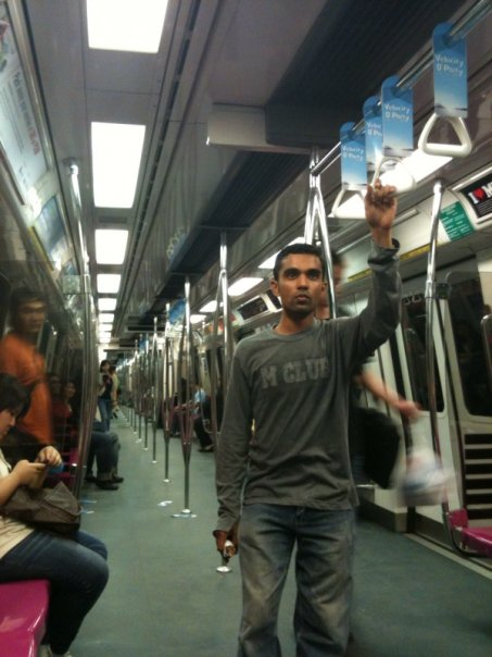 428. Travelling in an MRT- Singapore Style