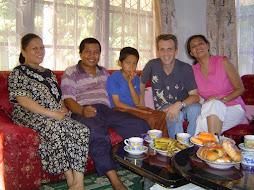 Craig Pentland, Muhammad Fachrul and Norjana