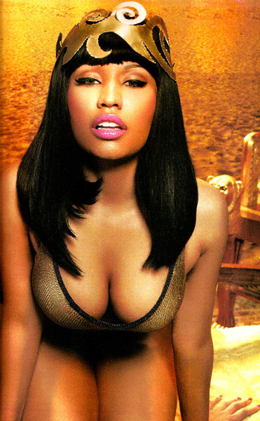NICKI MINAJ x BLACK MEN MAGAZINE SHOOT