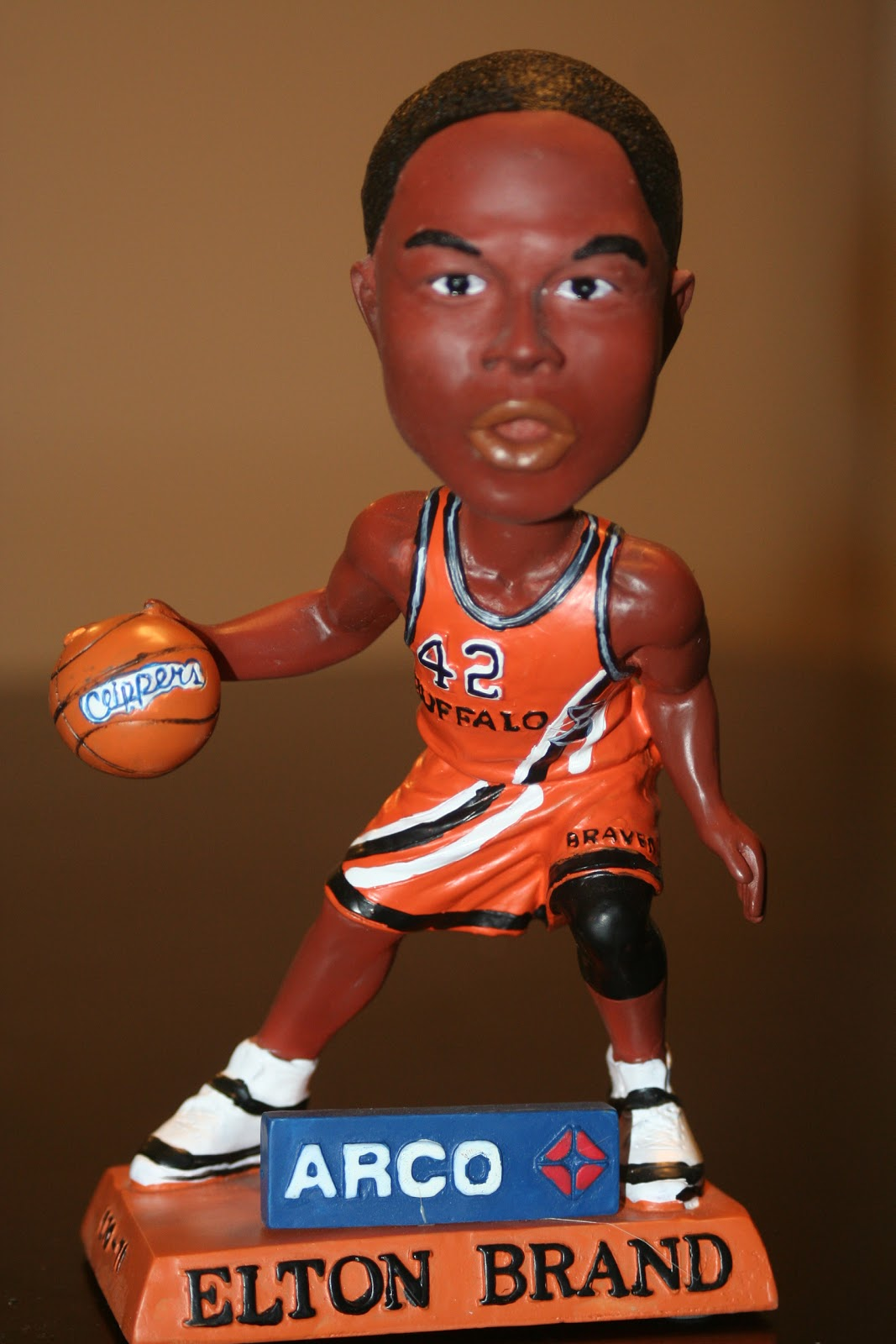 Dodgerbobble Bobblehead The Day Elton Brand Buffalo Braves