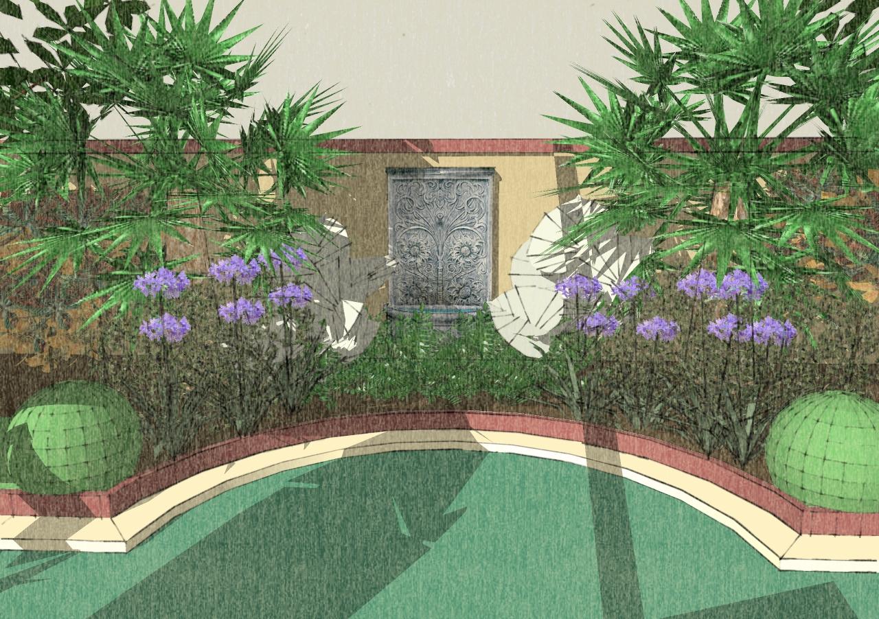 John denson rla landscape architecture musings sketchup for Garden design sketchup 8