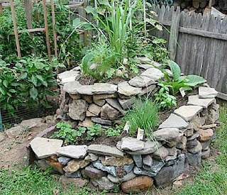 Herb Garden Design - How to Make a Herb Spiral