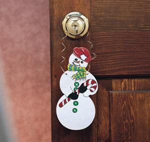 Christmas Crafts - Christmas Door knob Decorations