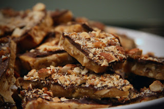 Homemade Chocolate - Coated Butter Toffee