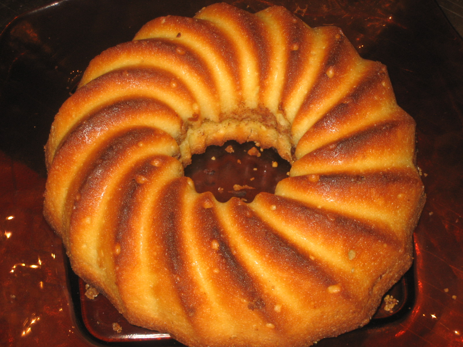 لذت لذت آشپزی: کیک ساده