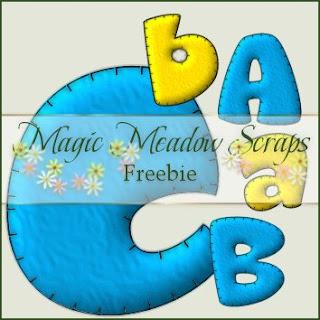 http://magicmeadowscraps.blogspot.com/2009/05/daily-freebie-puffy-alpha.html
