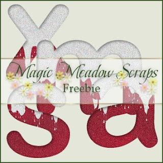 http://magicmeadowscraps.blogspot.com/2009/11/daily-freebie-xmas-collections-12.html