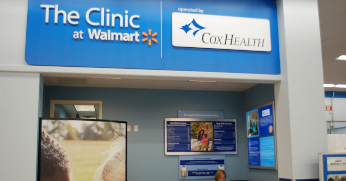 coxhealth connection   u0026quot clinic at walmart u0026quot  opens this month