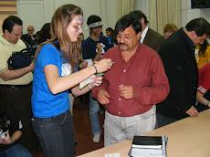 Vacunando a los Concejales
