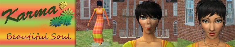 Karma Allan's Life in The Sims 2