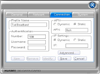 Setting Manual Profil Internet Telkomsel