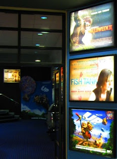 Up 3D advert at Belfast City Side Mall Movie House Cinema