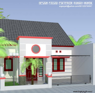 Desain Fasad Eksterior Rumah Mungil