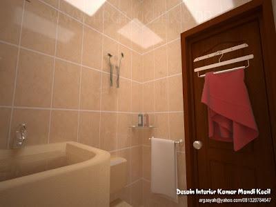 desain interior kamar mandi kecil ukuran 1 4x1 5m