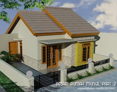 gambar rumah kecil on Blognya Wong Sipil karo Arsitek: Desain Eksterior Rumah Mungil Part 2