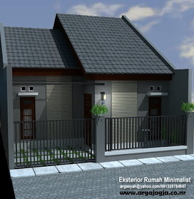 Desain Eksterior Rumah Minimalis