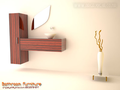 Desain Interior Furniture Kamar Mandi Minimalist