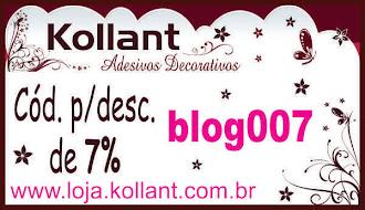 Parceria com a Kollant Adesivos decorativos
