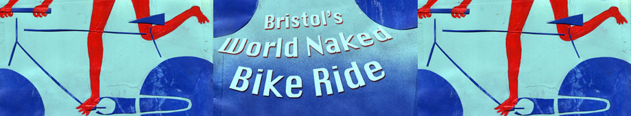 Bristol World Naked Bike Ride