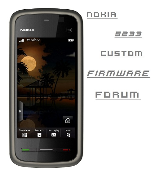 Nokia 5233 Custom Firmware Forum