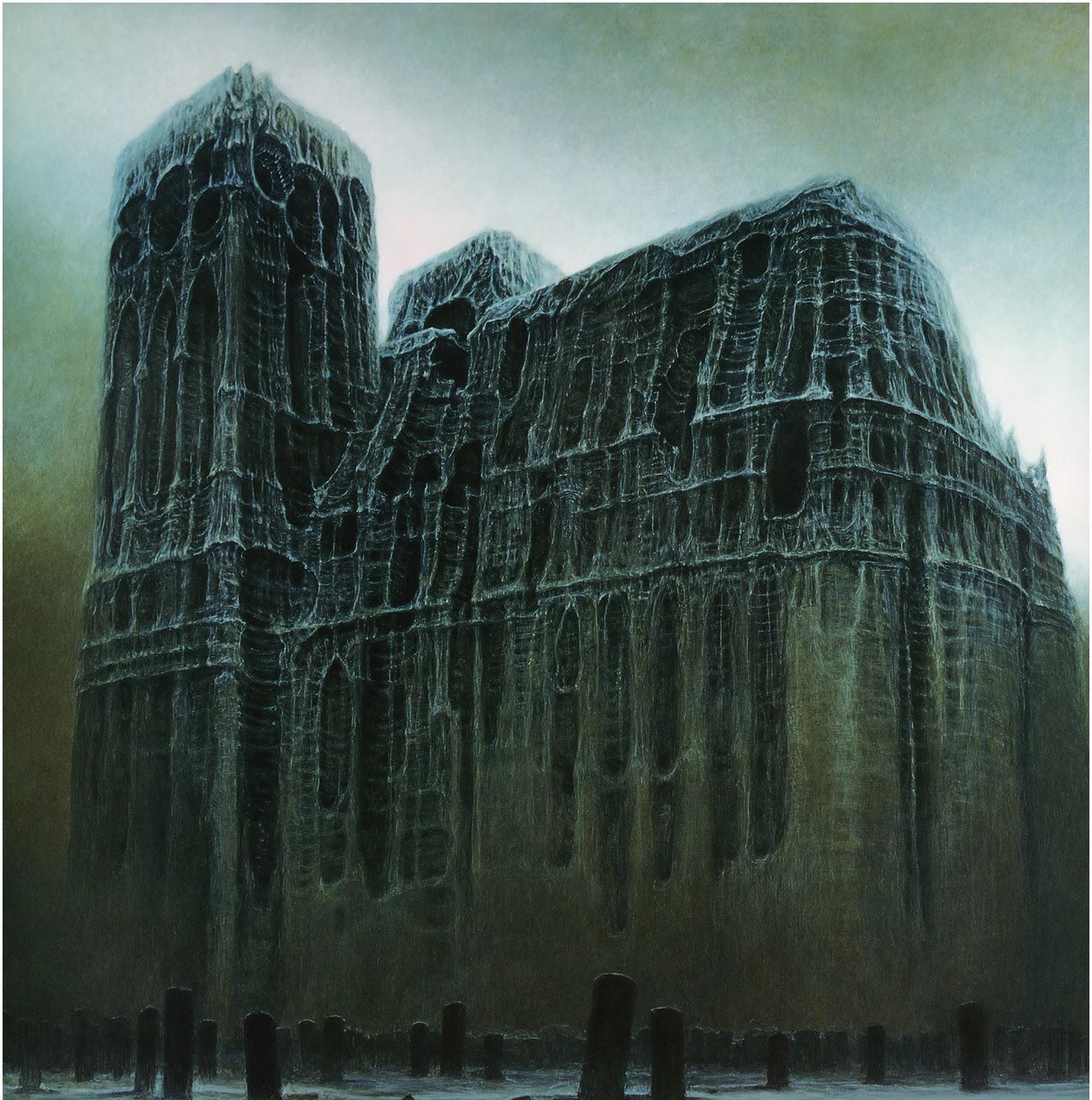 El arte gótico y oscuro de Zdzislaw Beksinski Zdzis%C5%82aw+Beksi%C5%84ski+-+1985+(10)