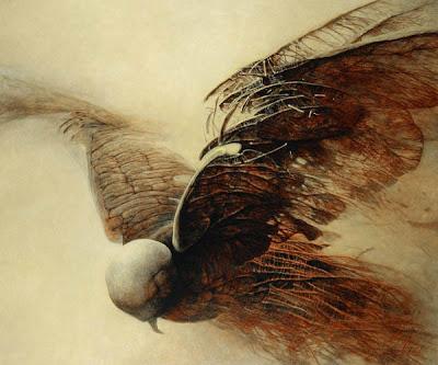 beksiński ptak