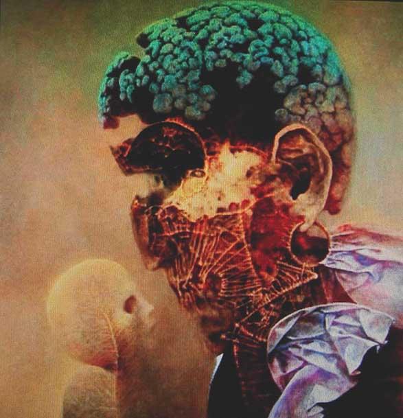 mózg malarstwo