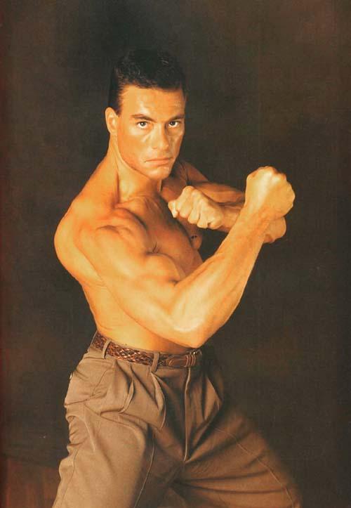 van damme klata biceps