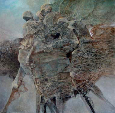 beksiński 2004
