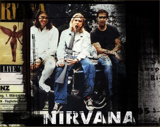 Nirvana / David Bowie - The Man who sold the World Guitar chords ...