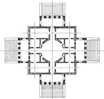 Elines design blog design theory palladio late for Palladian house plans