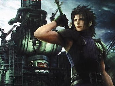 Zack Fair in FF7 Crisis Core.