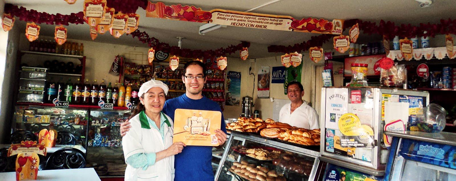 Adornada para el concurso de panaderías Harina Haz de Oros