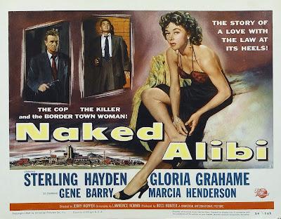 Film Noir Of The Week Naked Alibi 1954