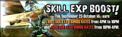 e-Games Cabal Online Philippines Skill EXP Boost Event
