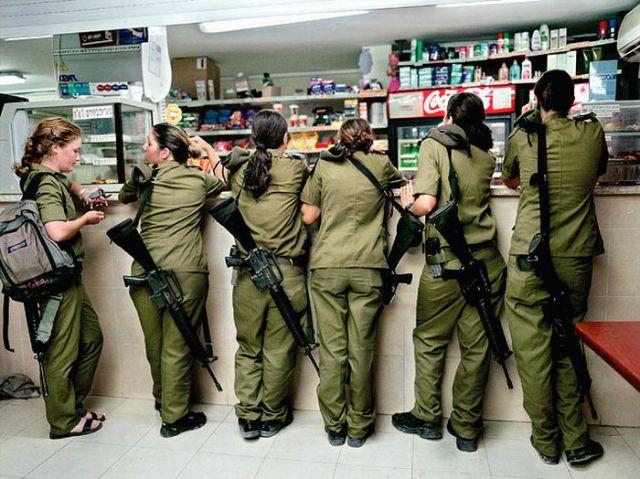 Tentara wanita israel pajang foto 69
