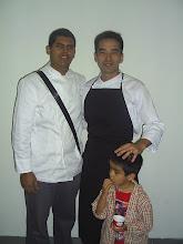 Takeshi Nagahama y su hijo