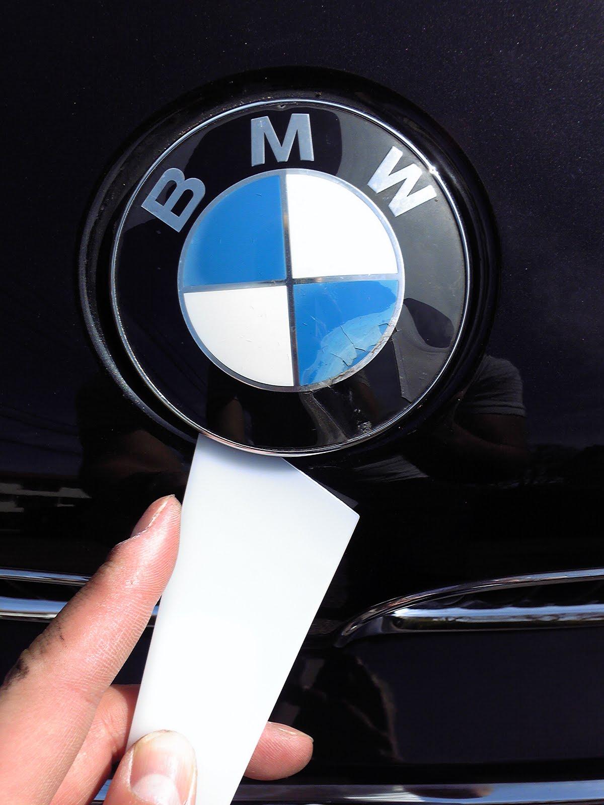 の 整備日記: BMWのボンネット(エンブレム)交換 skip to main | skip t