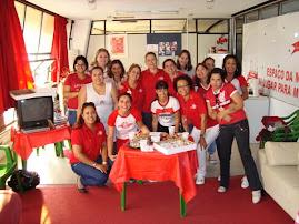 MULHERES COLORADAS NA PRIMEIRA REUNIÃO 2009