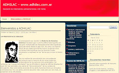Sitio web de ADHILAC